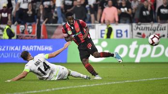 Három védőt fektetett el gólja előtt a Honvéd-csatár