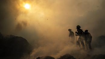 További 50 ezer embert evakuálhatnak Kaliforniában tomboló erdőtűz miatt