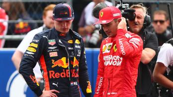 Verstappent büntették, Leclerc-é a pole