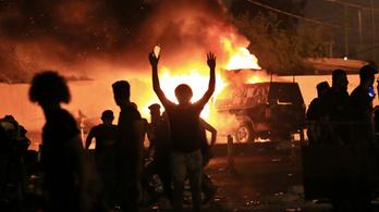 Közel hetvenen meghaltak két nap alatt az iraki tüntetéseken