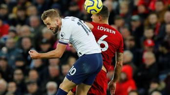 A 46. mp-ben gólt lőtt a Spurs a Liverpoolnak