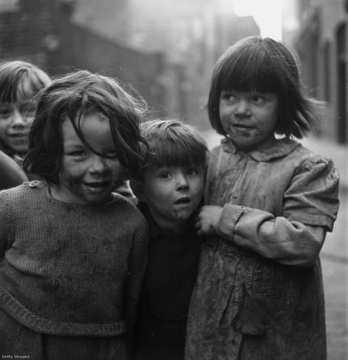 Utcagyerekek Londonban 1947-ben