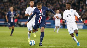 A PSG a szünetig megsemmisítette a Marseille-t