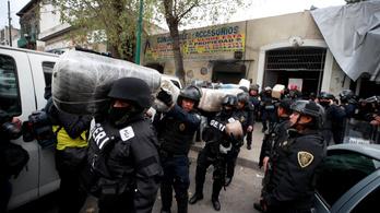 Negyvenkét koponyára bukkantak egy mexikói kartell rejtekhelyén