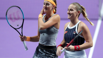 Babosék győzelemmel kezdtek a WTA-vb-n