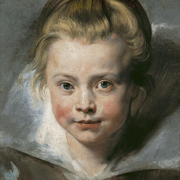 Peter Paul Rubens: Clara Serena Rubens portréja, 1616 körül