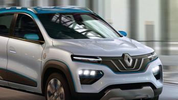 Európába is elhozzák a Renault szuperolcsó villanyautóját