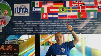 Szőnyi Ferenc a világon elsőként csinálta meg kétszer a 20-szoros Ironmant