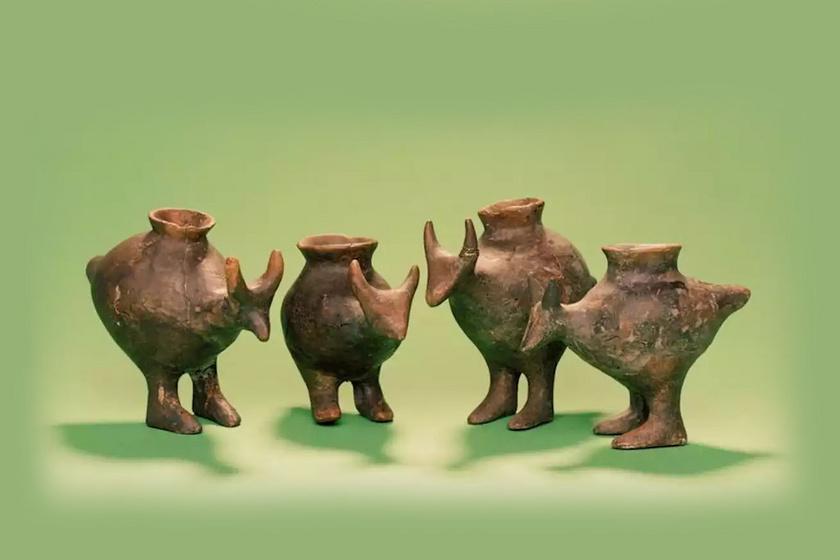 Ilyen cuki bébipoharakból ittak a gyerekek 3200 éve: ritka aranyos a régészeti fogás