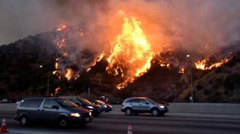 Elérte Los Angelest a kaliforniai erdőtűz