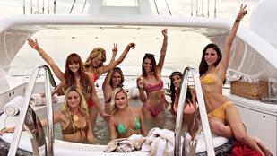Jachtpartik besztof: szex, drogok, pezsgő és féktelen bulizás a kajütben