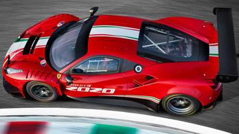 Megmutatták a Ferrari új versenygépét