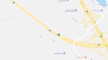 Három kamion ütközött az M0-s autóúton, az egyik sofőr meghalt