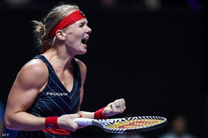 Kiki Bertens a sencseni WTA-világbajnokságon