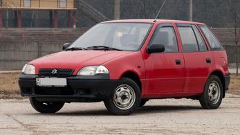 Használtteszt: Suzuki Swift 1.0 – 1997.