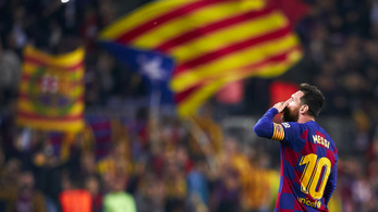 Messi 50. szabadrúgásgólja után még messisebb gólt lőtt