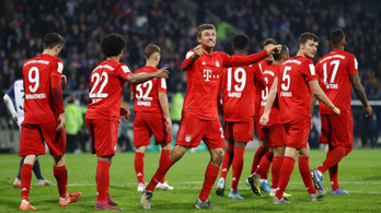 A mellőzött Müller mentette meg a Bayernt a kupában