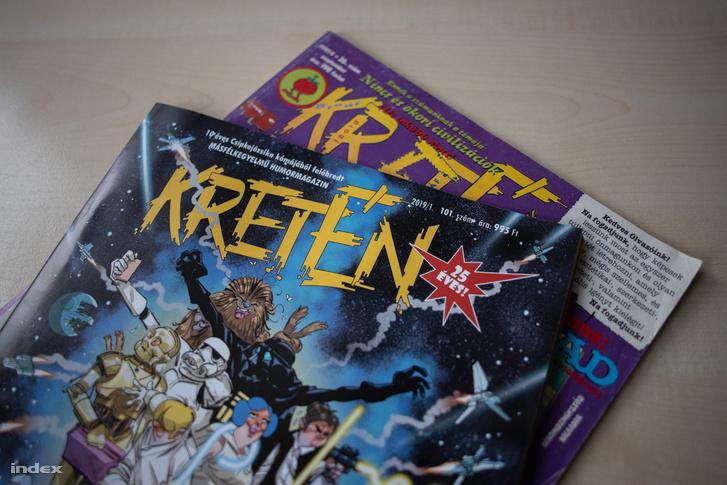 Tíz év szünet után új számmal tért vissza az újságárusokhoz a Kretén Magazin. Az új kiadvány impozáns 52 oldalból áll, mindezért pedig 995 forintot kérnek az újságárusoknál