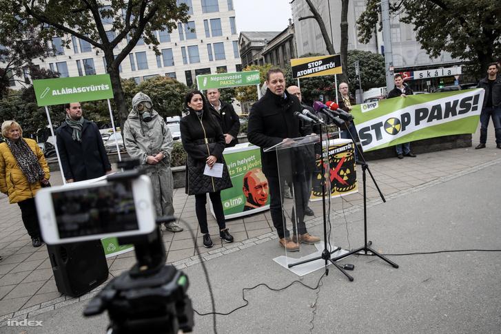 Keresztes László Lóránt, az LMP frakcióvezetője