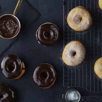 Pihe-puha foszlós fánkok, melyeket sütőben is megsüthetsz