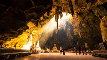 Turisták is bejárhatják a barlangot, ahonnan kimentették a thaiföldi gyerekeket