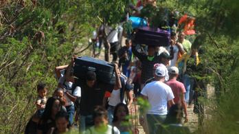 A venezuelai menekültválság a legnagyobbá nőhet a világon