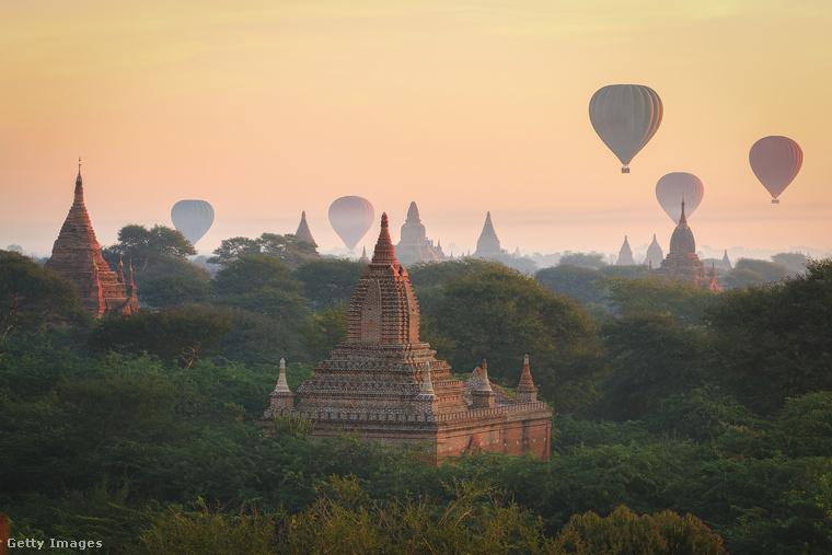Bagan templomaiA mianmari Bagant a 2