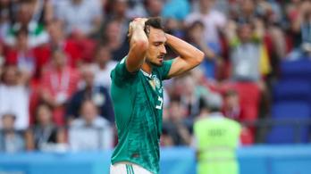 Talán visszatérhet a német válogatottba a kidobott világbajnok védő