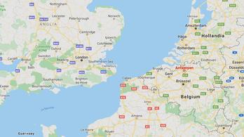 Élve találtak 12 embert egy hűtőkamionban Belgiumban