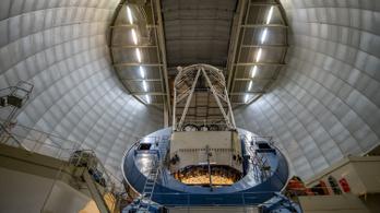 Munkába állt a sötét energiára vadászó szuperteleszkóp