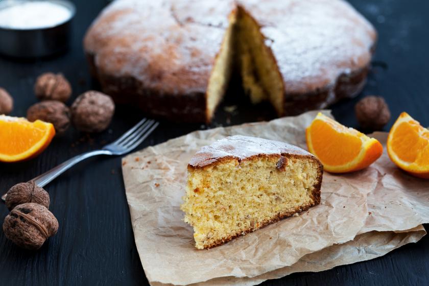 Hattojásos piskóta naranccsal és dióval: pillekönnyű lesz a tészta