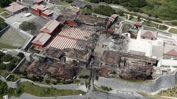 Leégett a világörökségként jegyzett Suri-kastély nagy része