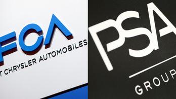 Egyesül a Fiat és a Peugeot, új kihívója lesz a VW-nek