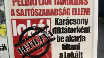 A Lokál szerint Karácsony diktátorként tiltaná be őket
