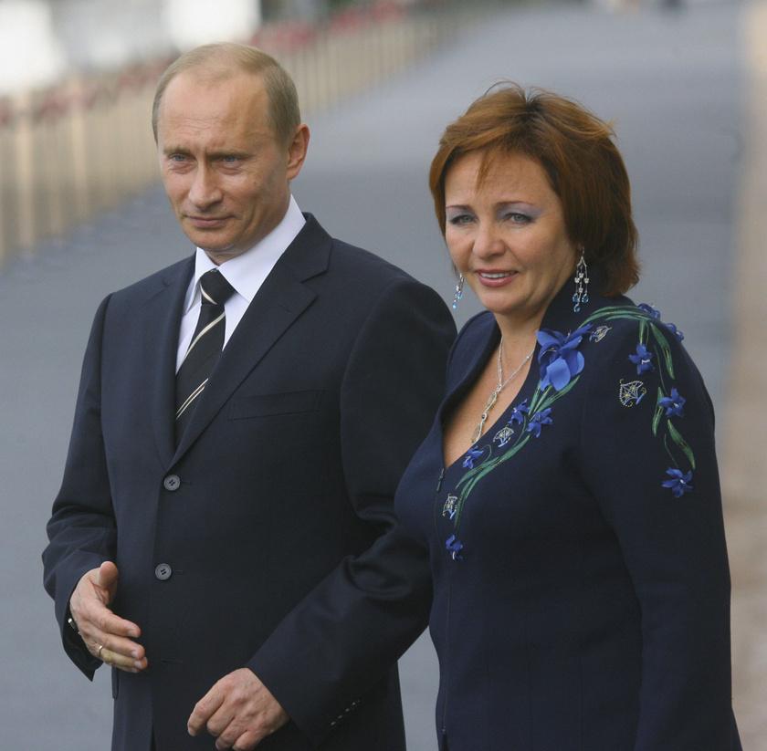 Vlagyimir Putyin és Ljudmila 2006-ban.