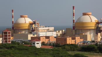 Kibertámadás ért egy indiai atomerőművet