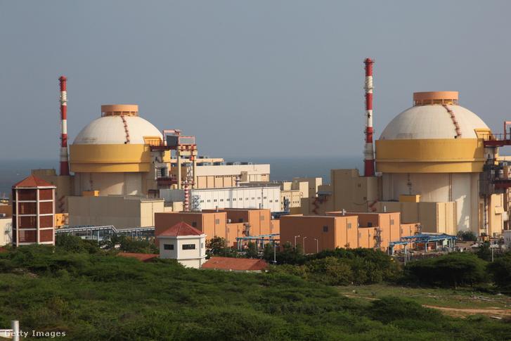 A Kudankulam atomerőmű