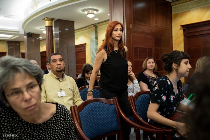 Renner Erika sértett a haramadfokú tárgyaláson 2018-ban