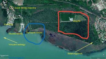 Gigaberuházást terveznek a Balaton egyik legszebb területére