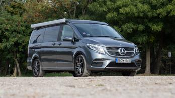 Bemutató: Mercedes-Benz Marco Polo Horizon 300d AWD - 2019.