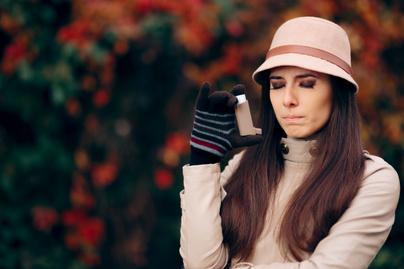 hideg asztma roham