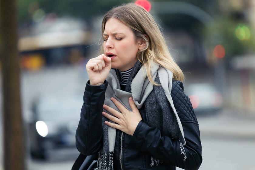 asztma hideg