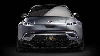 Megvillantották az új Fisker villanyautót