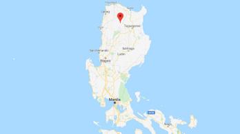 Nem fogott a fék, szakadékba zuhant egy teherautó a Fülöp-szigeteken