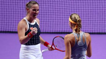 Babosék mindenkit legyőztek a csoportkörben a WTA-vébén