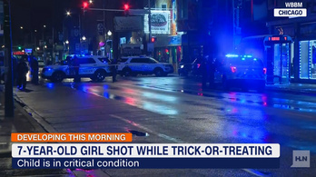Halloween estéjén lőttek meg egy hétéves lányt Chicagóban