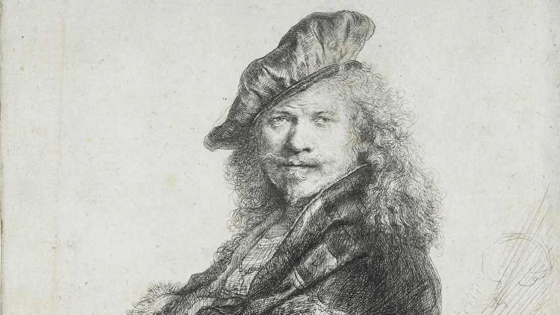 1 Rembrandt Kőmellvédre támaszkodó önarckép