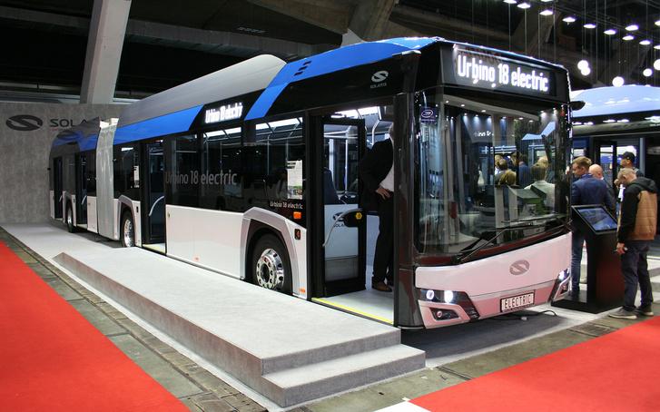A Solaris nem bír annyi elektromos buszt gyártani, mint amennyire megrendelése van