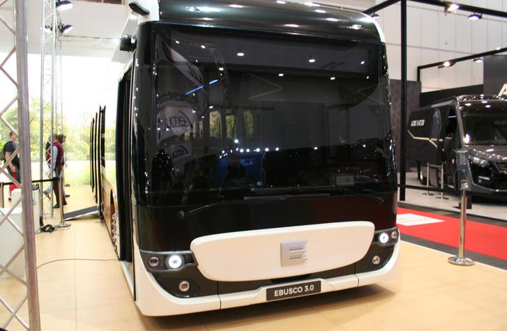 Az Ebusco 3.0 az egyik leginnovatívabb és előremutatóbb jármű volt a kiállításon