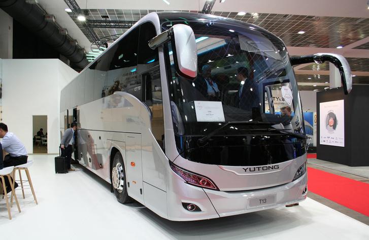 Nagyon szép busz lett a Yutong T13-as